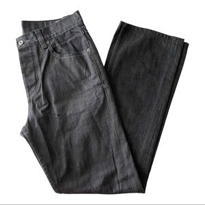 DC Black Denim Straight Leg Jeans 32